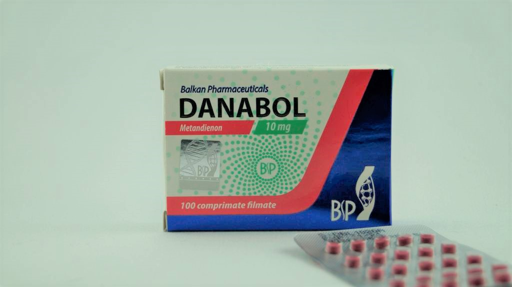 Danabol Metanabol 10 mg/tab Balkan Pharmaceuticals 100tabs